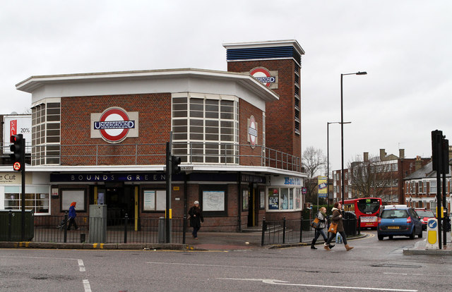 Bounds Green Underground Station