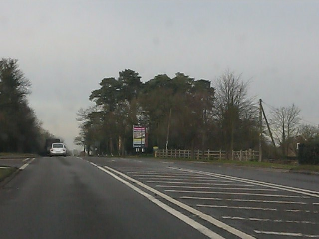 A41 at High Heath