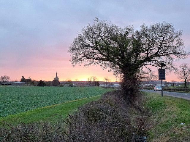 Dawn over Staunton 3