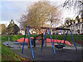 SX9164 : Upton Park play area by Richard Dorrell
