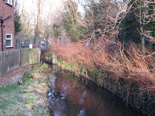 Silk Stream, north of Colindale Avenue, NW9
