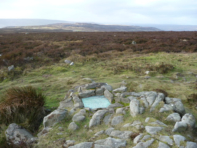 Foxhunter's memorial on the Blorenge
