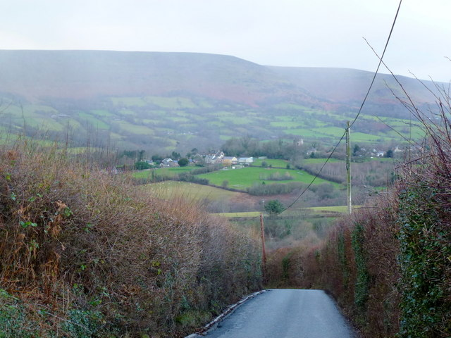 Downhill to Longtown