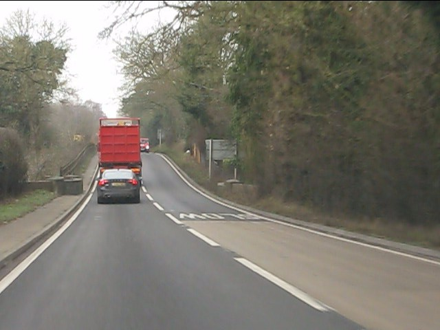 Rollercoaster on the A41