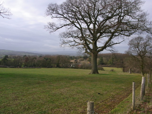 From the bridleway, view to Hidcote Bartrim