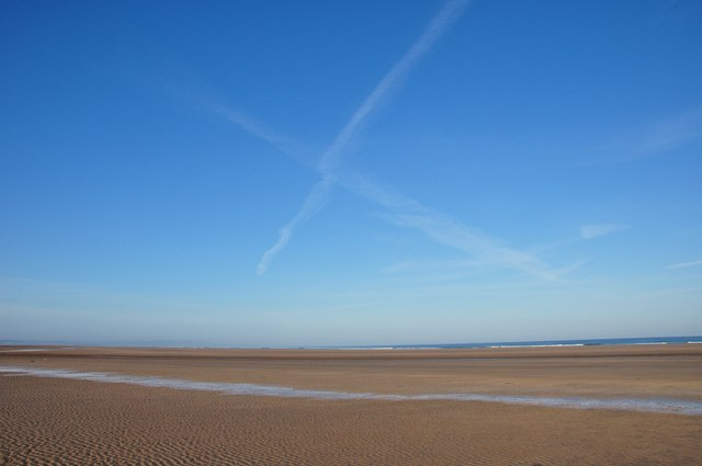 Saltire above the Sands