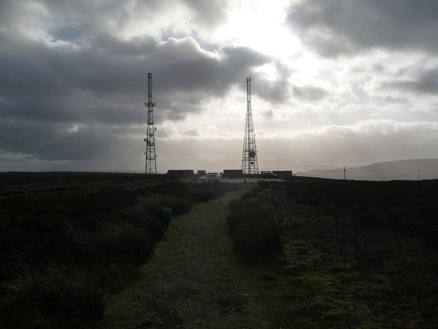 Foxhunter car park WT station masts