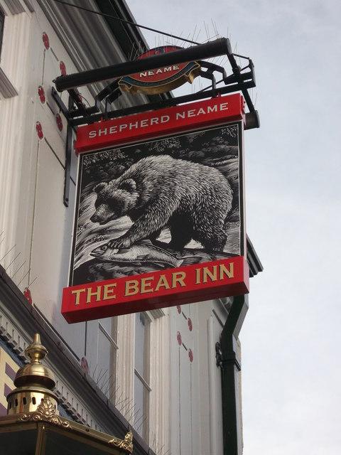 The Bear Inn Pub Sign, Faversham