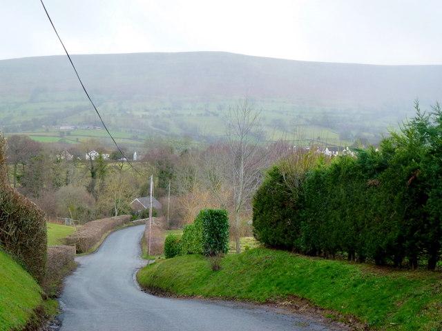 Descending to Longtown