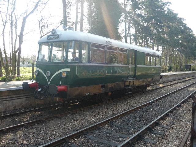 Train at Holt