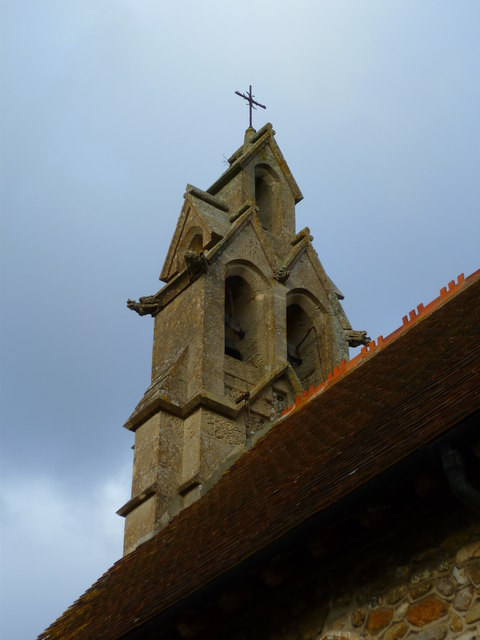 The bell turret of Hunston church