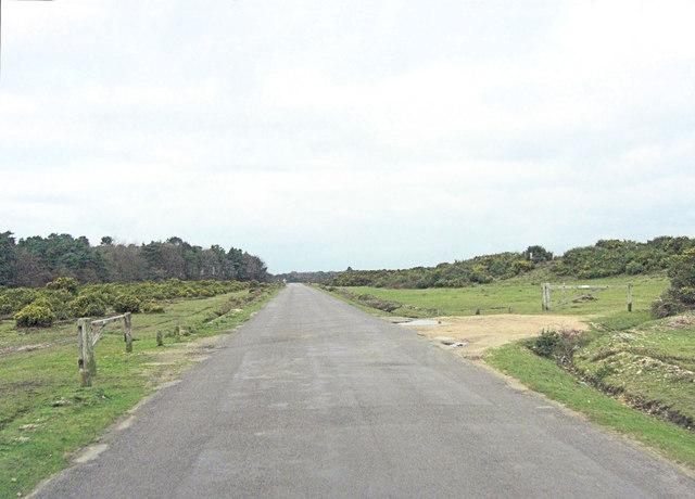 Brighton Road north of Sway