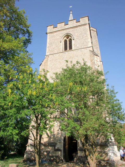 Church of St Mary and St Thomas, Knebworth, Hertfordshire