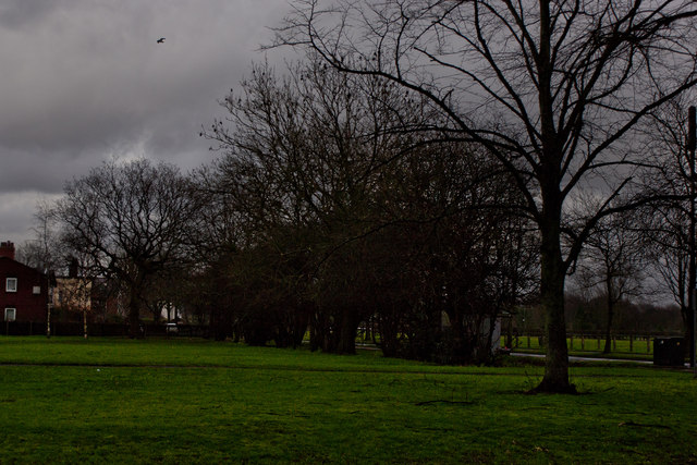 Open space by Marlborough Road, Flixton Road and Irlam Road