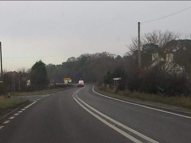 A41 in Higher Heath