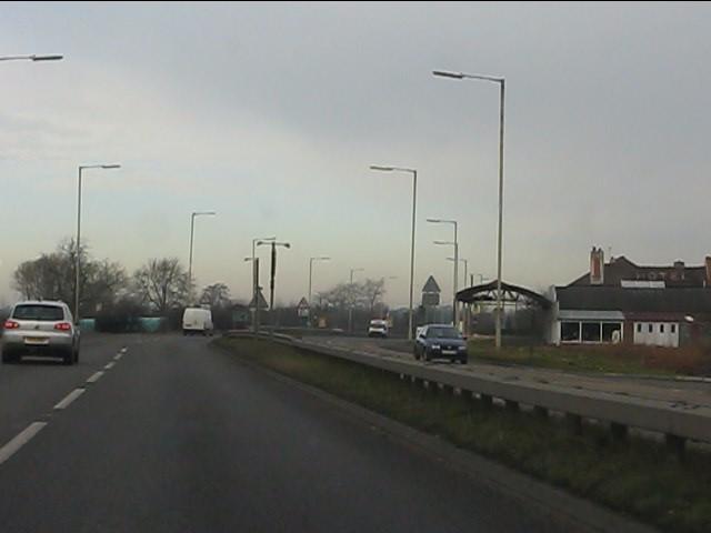A41 at Prees Heath