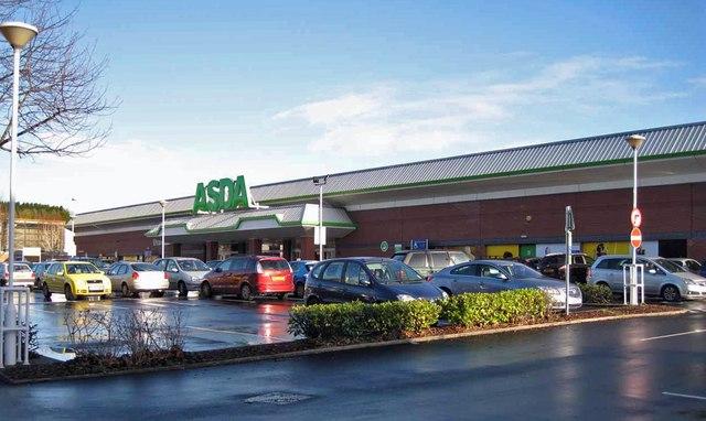 Asda supermarket, Newton Road