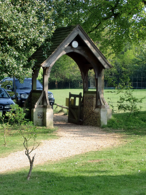 Lych Gate, Church of St Mary and St Thomas, Knebworth