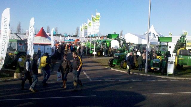 Farm machinery show, Newark