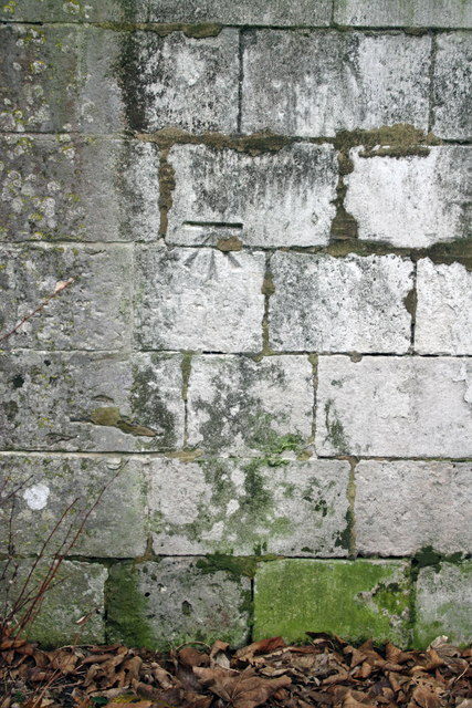 Benchmark on St John the Baptist Church, Fortuneswell
