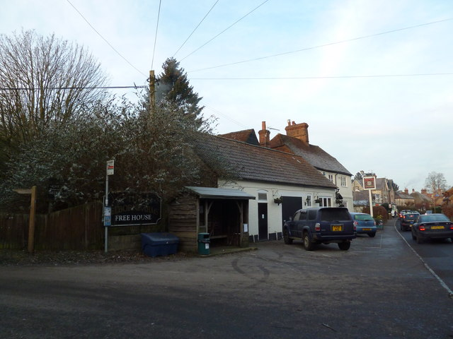 Bus stop by the Selborne Arms