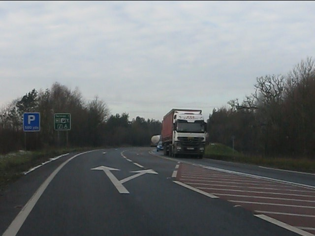 Whitchurch bypass at the vineyard junction