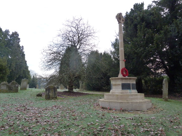 A chilly war memorial at Selborne