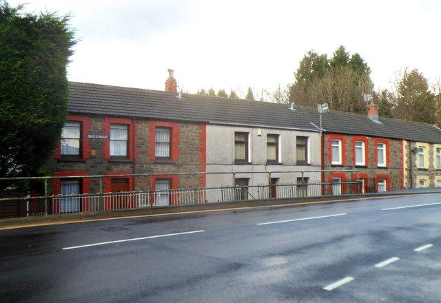 Taff Terrace, Cwmparc