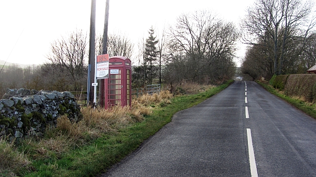 Telephone box, Mindrum