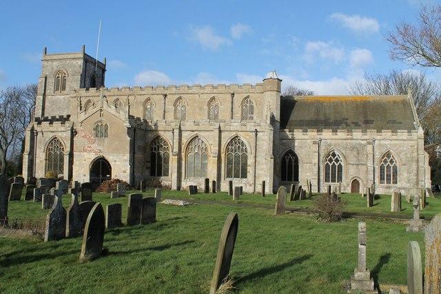 St Mary & St Nicholas church, Wrangle