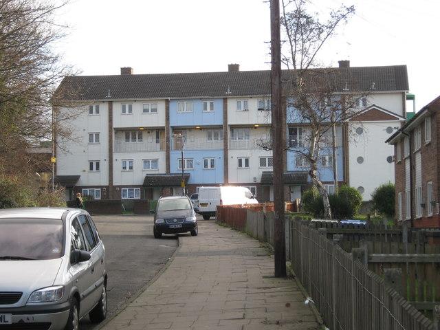 Housing estate, Hodge Hill