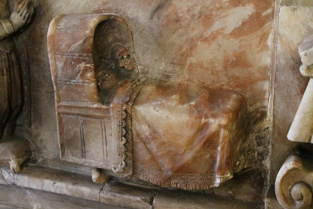 Detail of Cradle, Reade memorial, Ss Mary & Nicholas church, Wrangle