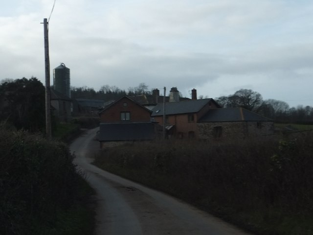 Holloway Barton farm