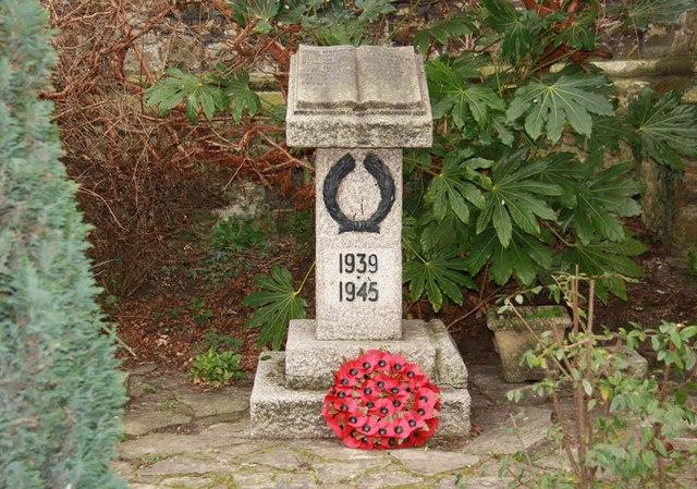St James, St James's, Hatcham - War Memorial WWII
