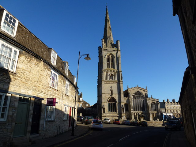 All Saint's Church in Stamford