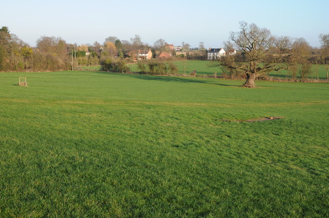 Farmland at Martin Hussingtree