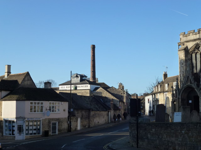 All Saints' brewery in Stamford