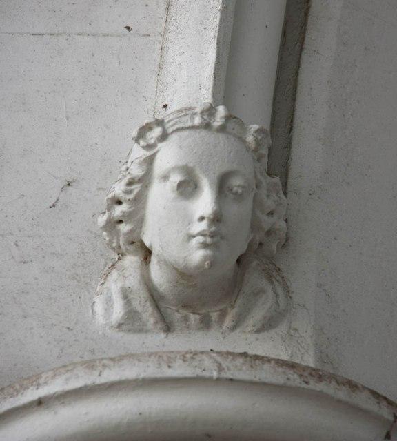 St James, St James's, Hatcham - Label head