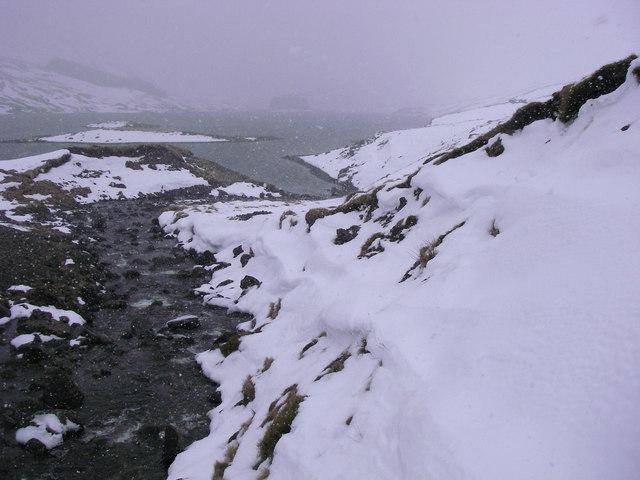 Loch an Daimh, southern shore