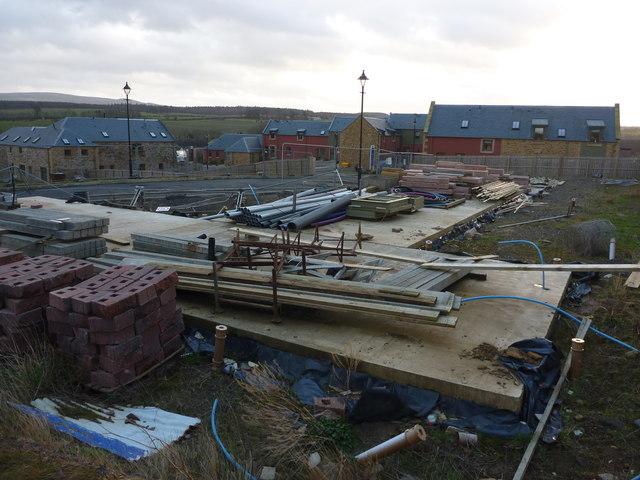 Rural East Lothian : Building The Country Life at Bolton, near Haddington