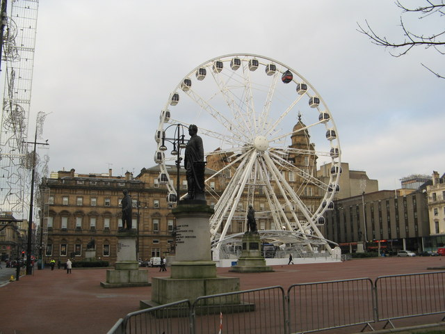 The Observation Wheel in George Square