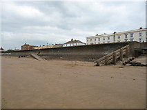 ST3049 : Burnham-On-Sea - Sea Defences by Chris Talbot