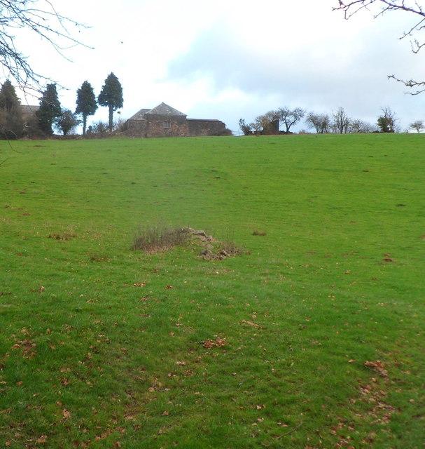 Little Ancrehill Farmhouse near Rockfield