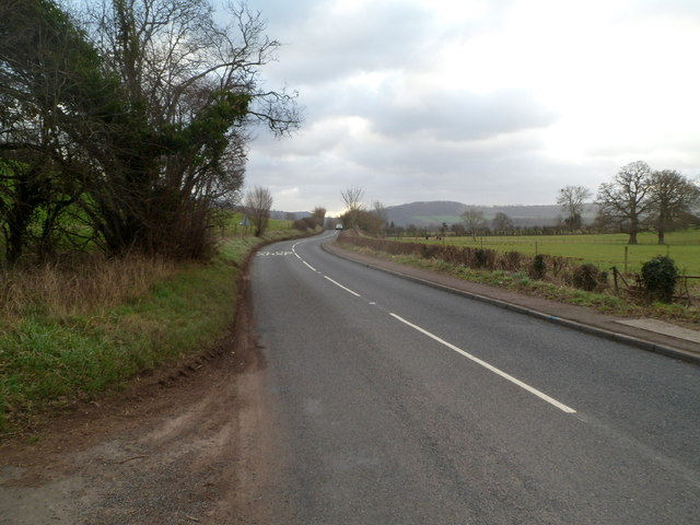 B4233 heads SE away from Rockfield