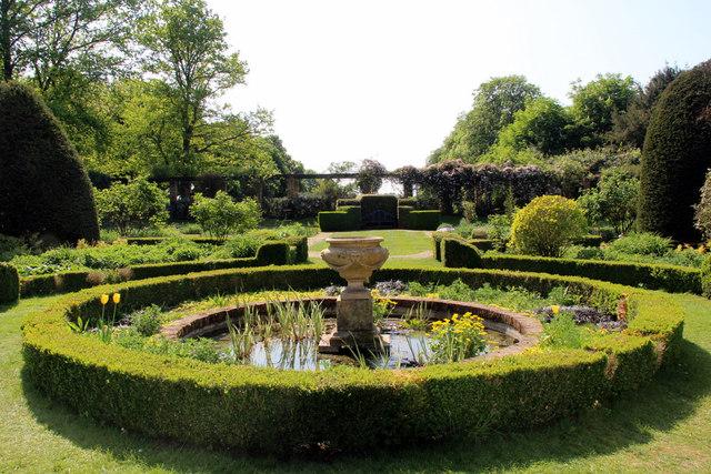 Formal Garden, Knebworth House, Hertfordshire