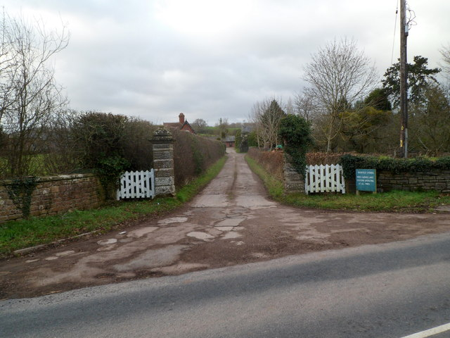 Entrance to Rockfield Studios near Monmouth