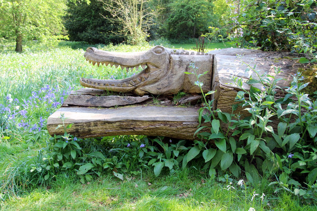 Wood Carving, Knebworth House, Hertfordshire