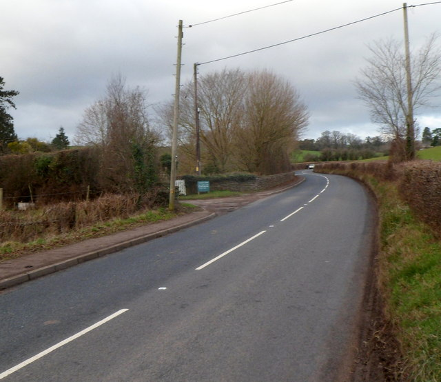Rockfield Road passes the entrance to Rockfield Studios near Monmouth