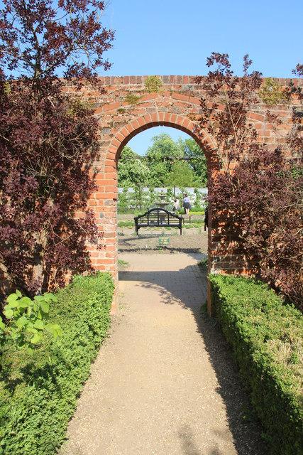 Walled Garden, Knebworth House, Hertfordshire
