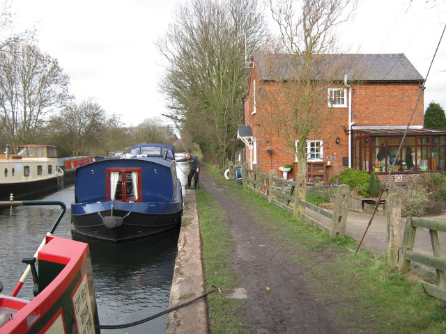 Grand Union Canal, Copt Heath